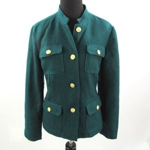 Chico's Military Style Jacket Size 1